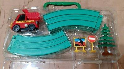 工程車軌道組/軌道車/玩具車/發條車/小型車/小車/交通造型玩具