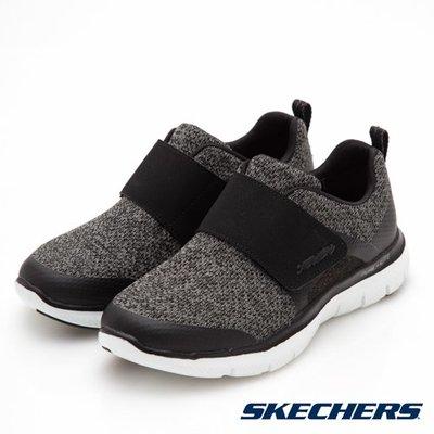【昇活運動用品館】Skechers FLEX APPEAL2.0 休閒運動鞋 12898 BKW 直購價2150元