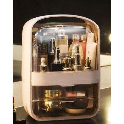 『大號化妝箱』潘多拉化妝盒防塵防潮桌面整理收納箱保養品化妝品首飾收納抽屜收納櫃化妝櫃 BB-019