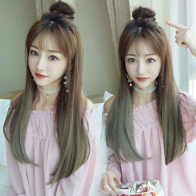 全新設計U型假髮 韓系女神漸變 直髮微彎 逼真自然【MW390】☆雙兒網☆