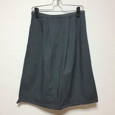 (U018) joiner 灰色及膝裙 L號 (全新庫存品)~牧牧小舖~優質二手衣~