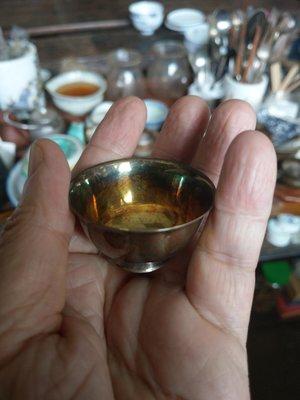 大草原文物館,日本純銀杯