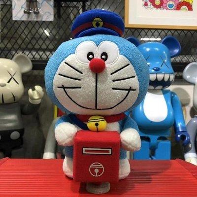 【Mickey Mouse】含運 香港 DING DONG宅配便 郵局限定版哆啦A夢 郵筒郵箱毛公仔 現貨