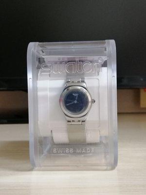 全新2018夏季款Swatch 不銹鋼銀色錶帶配黑色表面(瑞士購買)
