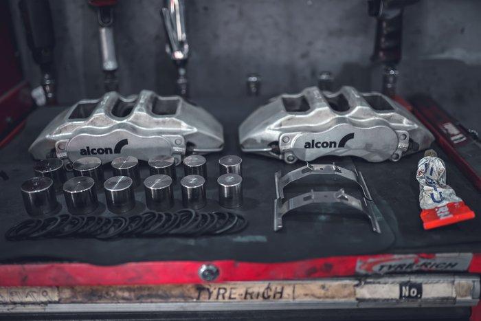 德朋國際 / ALCON CAR97 卡鉗清潔保養 表面基礎清潔 耗材更換