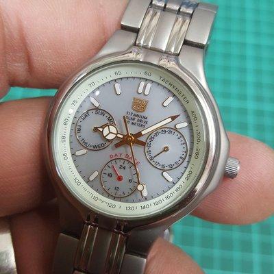 展示錶釋出 ELGIN USA 鈦金屬手錶 男錶 TITANIUM 非 SEIKO Rolex ETA OMEGA ORIENT 機械錶 水鬼錶