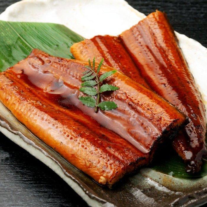 ㊣盅龐水產 ◇蒲燒鰻魚50P(含醬)◇200g±5%/包 零售$200元/包 歡迎團購
