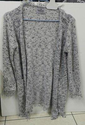 韓國針織長袖罩衫外衣Adorable無釦輕外套,漂亮造型外搭變化,春秋適合穿