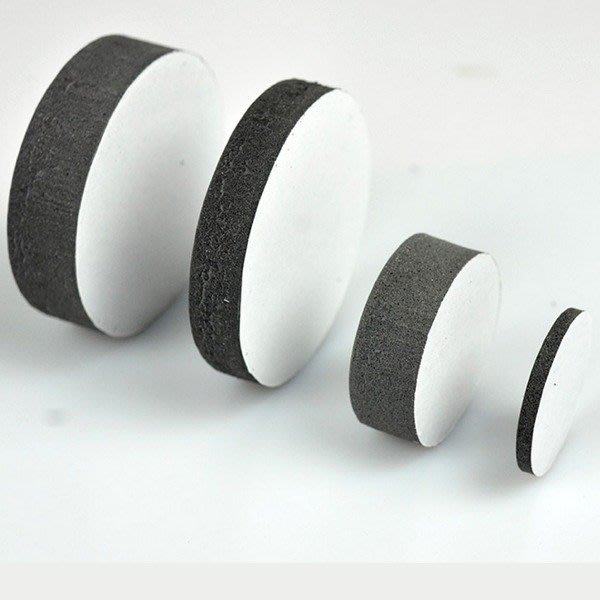 5Cgo【茗道】 537315285465海棉軟墊工藝品防滑墊根雕木頭烏金石擺件增高 直徑1-5公分可選(10個)