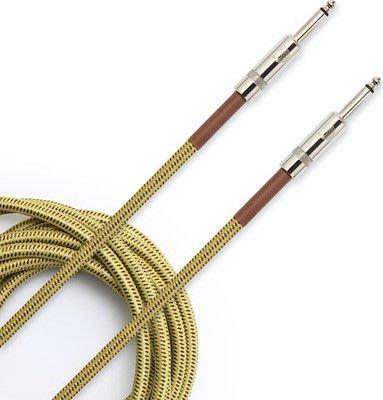 【現代樂器】Daddario Planet Waves PW-BG-20TW Custom系列 20呎編織款導線 雙直頭