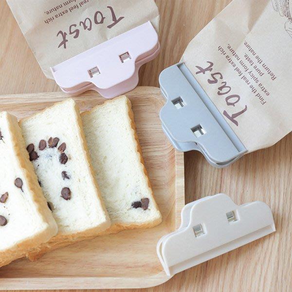 《Jami Honey》【JI2146】廚房食物零食強力大型封口夾 防潮保鮮密封夾