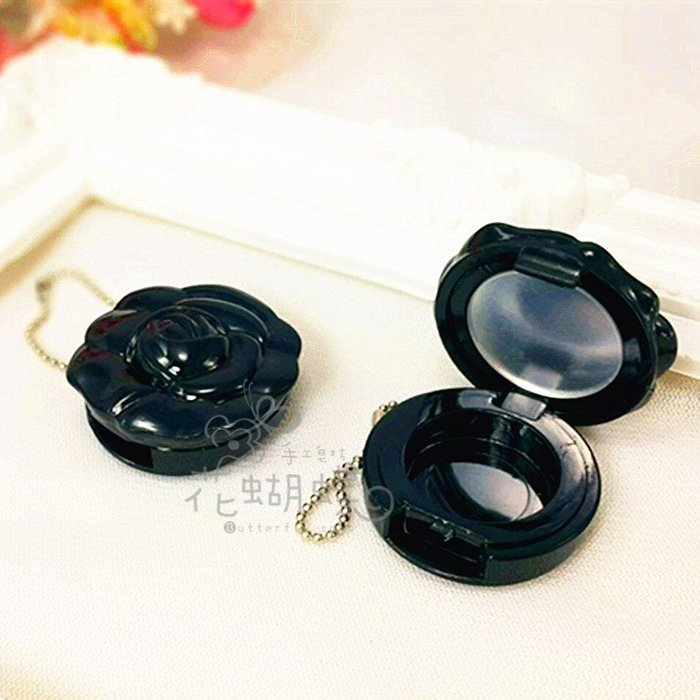 Anna Sui---安娜·蘇風 玫瑰花口紅分裝盒diy口紅盤空盤眼影盒空盒小樣分裝壓盤(帶鋁盤)