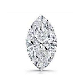 GIA 0.38克拉 F SI1 Marquise Cut Diamond (30分馬眼型切刻鑽石價格)