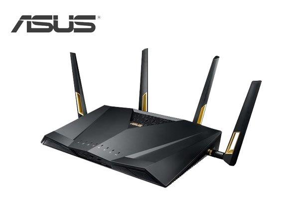 「ㄚ秒市集」ASUS 華碩 RT-AX88U 雙頻 四天線 WiFi 6 ax 無線路由器 分享器 基地台