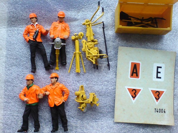 1 Scale MK05400-4 MARKLIN 限量紀念維修人員組