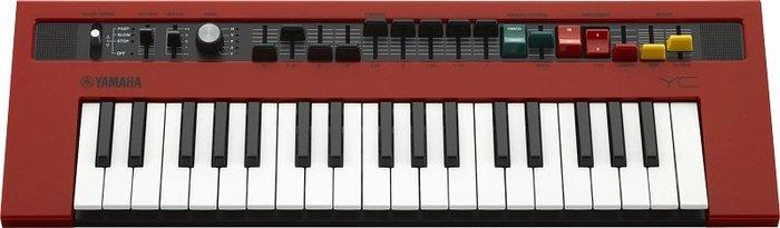 造韻樂器音響- JU-MUSIC - 全新 YAMAHA reface YC 37鍵 合成器