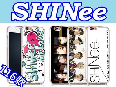 SHinee 訂製手機殼 iPhone X 8 7 Plus 6S、三星S8 S7 A7、J7、A8 Prime Pro