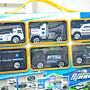 ◎寶貝天空◎【警車收納手提箱】附6台小車,手提盒手提貨櫃停車場,小朋友最愛,禮品贈品玩具,玩具車警察局