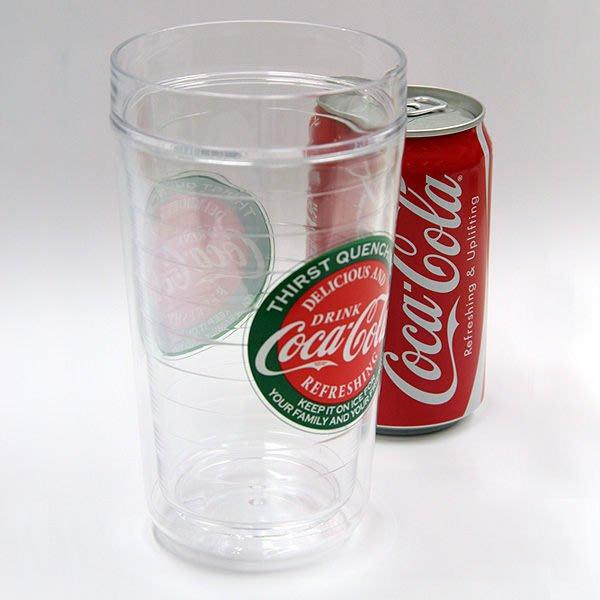 (I LOVE樂多)(日本進口)可口可樂雙層設計不凍手暢飲杯Coca-Cola Double Wall Tumbler