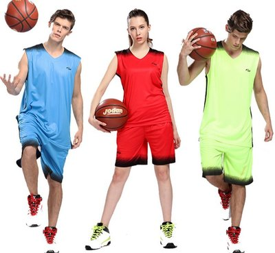 男女籃球服套裝 大人兒童籃球比賽訓練隊服 籃球背心印字印號健身運動服