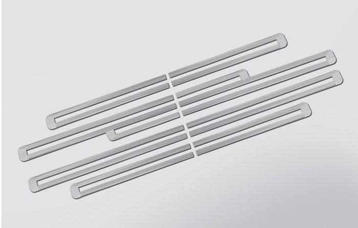 豐田 Previa 2.4 / 3.5 不鏽鋼 炫銀 滑軌飾條 防刮 耐磨 美觀 高質感 直貼上 A17