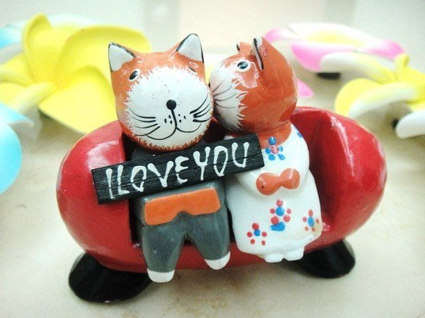 Y【永晴峇里島】巴里島可愛沙發小貓吊飾/擺飾/公仔,居家、民宿、飯店都好用-擺飾5