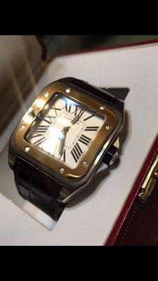 代售  Cartier 山度士 Santos 100 交流 Rolex AP pp