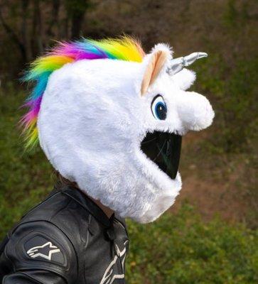 【丹】A_Moto Loot Helmet Cover 安全帽套 芝麻街 獨角獸 獨角馬