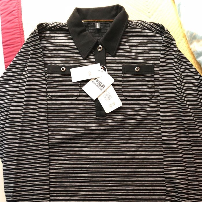 全新PRGR日本高爾夫球polo衫M