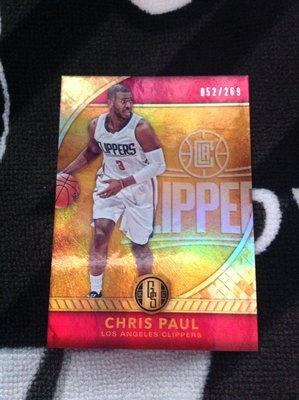 16 17 Gold Standard - Chris Paul 限量/269 正規卡