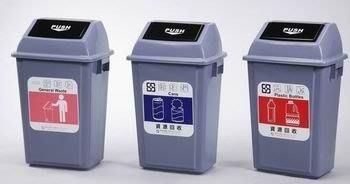 【CG3-8】PUSH推蓋回收桶(中)(型號:CB-40)