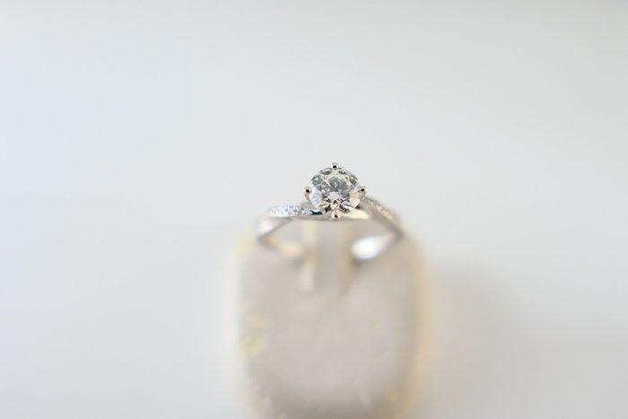 [吉宏精品交流中心]52分 天然鑽石 八心八箭 PT900白金 造型 戒指(周生生)