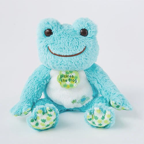 Pickles the Frog 青蛙 豆豆玩偶 藍色 金平糖繡球花 日本