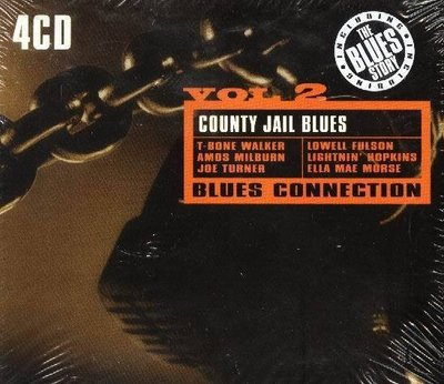 (甲上唱片) EMI-BLUES CONNECTION COUNTY JAIL BLUES-英版4CD紙盒精裝版