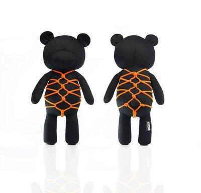 Kikkou Shibari Bear 亀甲熊 (Shocking Orange 螢光橙)