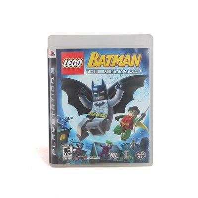 PS3 樂高 蝙蝠俠 英文版 無說明書 619900000263 再生工場YR1912 01