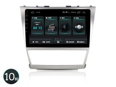【全昇音響】JHY M3P系列台灣設計製造2008年CAMRY 專車專用4核心 10吋安卓機2G/32G  系統穩定順暢