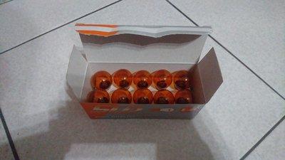 鼎旺汽車百貨~STD  台灣製  24V 單心燈泡~單芯燈泡~方向燈泡~琥珀 黃~橘色