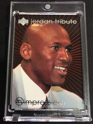 🐐1996-97 Upper Deck Jordan Tribute MJ Impressions #MJ41 Michael Jordan