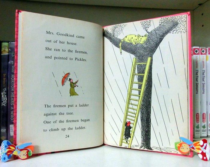 *【兒童英語繪本】*小pen~An I CAN READ Book~~The Fire Cat