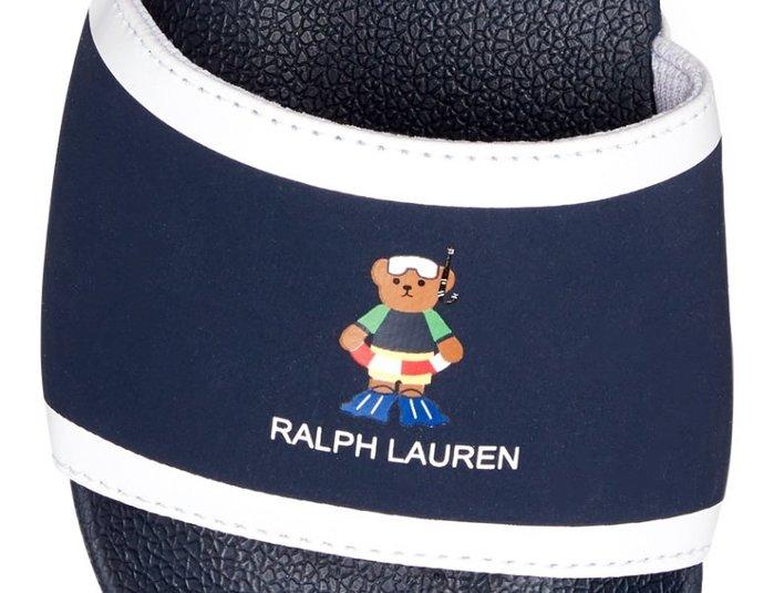 Polo Ralph Lauren 限量polo bear熊熊 拖鞋 大女童款