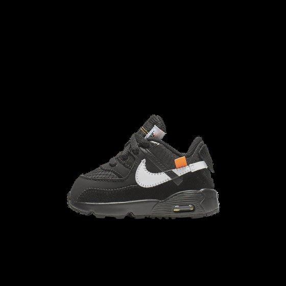 Nike x Off white Air max 90 Black 童鞋 Yahoo奇摩拍賣