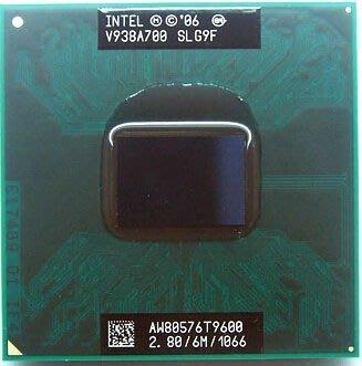 Intel Core 2 Duo 2.8GHz CPU T9600 正式版PGA478 SLG9F