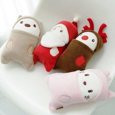 韓國 TEN 超療癒小毛毯 可收納造型保暖毯│z6757