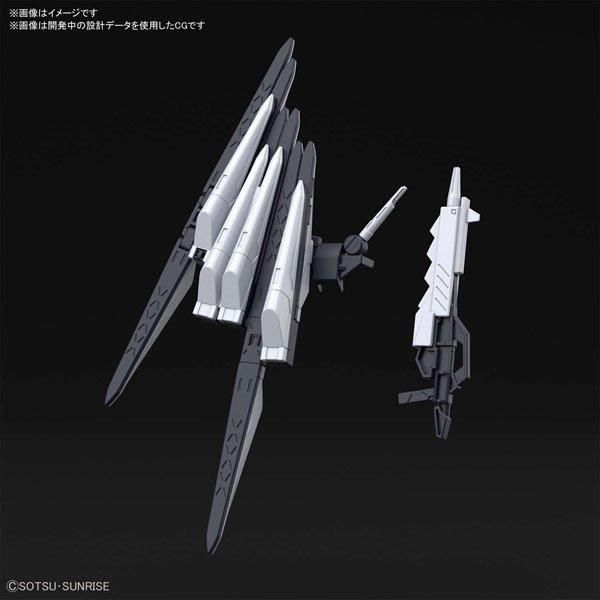 東京都-1/144 HGBD fake偽Nu 感應砲武器套組 創鬥者潛網大戰(NO:030)(此商品需自行組裝) 現貨