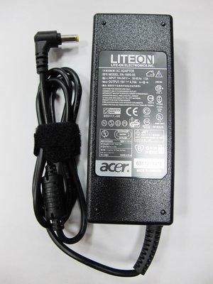 宏碁ACER  (副廠)變壓器 19V— 4.74A(細頭) ACER電源  充電器 變壓器~現貨供應中!