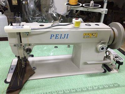 全新 PESUN 工業用 縫紉機 DY 單針 雙押腳 上下送 皮革車 全新 送LED燈 價格優惠 新輝針車有限公司