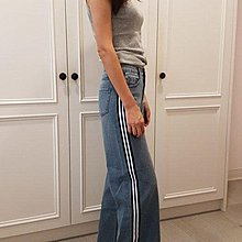 專櫃品牌abito (DITA)S號牛仔寬褲          低價899