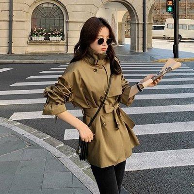 風衣 大衣 短版外套-OVERSIZE舒適休閒女外套73yt53[獨家進口][米蘭精品]