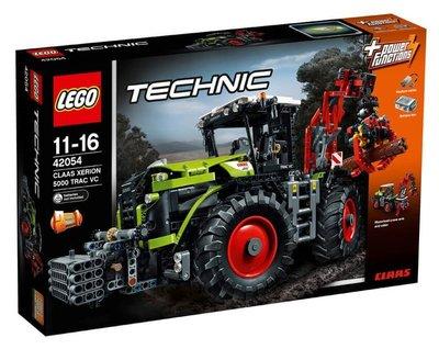 (全新未拆) LEGO 科技 42054 CLAAS XERION 拖拉機 (請先問與答)
